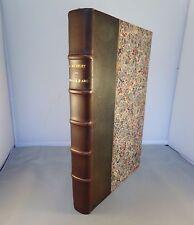 MICHELET / JEANNE D'ARC / 1888 HACHETTE (GRAVURES de BIDA) Reliure demi-cuir