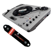 Reloop SPiN Portable Turntable System + Jesse Dean Contactless Fader Bundle