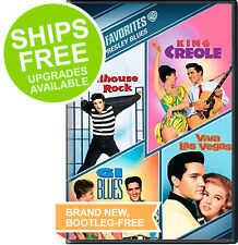 Jailhouse Rock / King Creole / GI Blues / Viva Las Vegas (DVD) Elvis REDUCED