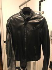 Men's Vintage RALPH LAUREN Black Label, Italian Leather Jacket XS