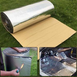 New 5m x 50cm Car Firewall Sound Deadener Heat Insulation Noise Material Mat 5mm