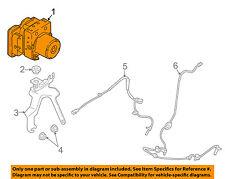 MAZDA OEM 16-17 CX-3-ABS Anti-Lock Brakes Control Module Unit DDY2437A0F