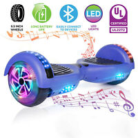Electric Hoverboard Bluetooth Speaker 6.5'' Wheels Self Balancing Scooter no bag