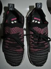 ADIDAS NMD BOOST SIZE UK 6 1/2 LACE-UP RUNNERS TRAINERS SHOES