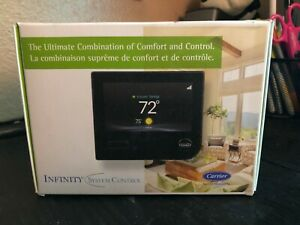 Carrier Infinity SYSTXCCITC01-B Touch Screen Programmable WiFi Thermostat