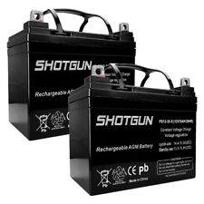 PS-12350, 12V 35AH U1 BCI Battery (Replacement) 2 Pack