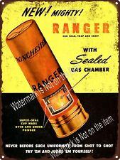"""1948 Winchester Shot Gun Shells Ranger Hunting Metal Sign 9x12"""" A378"""