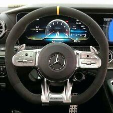 Mercedes-Benz OEM C190 X290 AMG Gt Mikrofaser Lenkung Rad Mit Gelb Stich