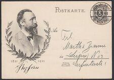 GERMANY, 1931. Post Card P211, Magdeburg - Leipzig