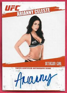 2009 Topps UFC Autograph Auto #FAAC Arianny Celeste