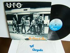 UFO - No Place To Run  CHR 1239  USA LP 1980  Chrysalis