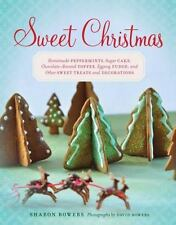 Sweet Christmas: Homemade Peppermints, Sugar Cake, Chocolate-Almond-ExLibrary