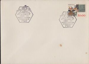 PORTUGAL 1980 COVER with commemoration/event cancel unaddressed - spots @D6173