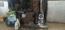 Kirby Sentria G10D Silver Upright Vacuum Cleaner with Attachments and Shampooer