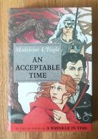 AN ACCEPTABLE TIME Madeleine L'Engle HB/DJ 1st Edition Printing Signed 1989