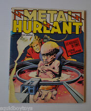 METAL HURLANT No.20 French Comic Magazine (HEAVY METAL) 1977 Moebius, Druillet