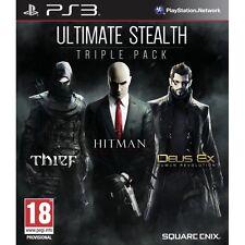 Ultimate Stealth Triple Pack (Thief/ Hitman Absolution/ Deus Ex Human Revolut...