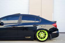 HIC USA 2012 to 2015 Civic 4dr side window visor + rear roof visor spoiler Gen 2