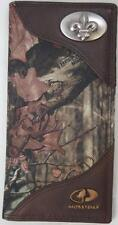 ZEP-PRO NEW ORLEANS FLEUR DE LIS  MOSSY OAK Camo WALLET ONLY NO BOX
