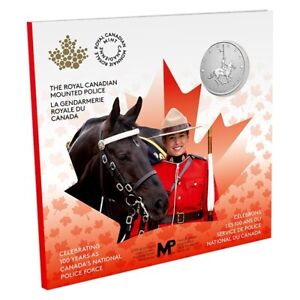 2020 RCMP Canada's National Police Force 100th Anniversary  $5 Pure Silver Coin