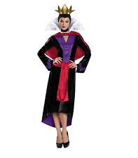 Disney Villains Evil Queen Deluxe Costume Adult Medium 8 -10 NWT Snow White New