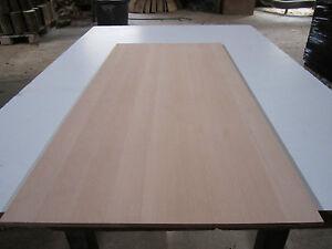 Buchenplatte Buche 10x400x1000mm dünne Massivholzplatte Leimholzplatte gehobelt