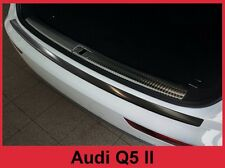 2018 Audi Q5 - Graphite Black Stainless Steel Rear Bumper Protector Guard