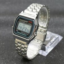 Armbanduhr Casio Design Sport Military Elegant Retro Modern Silber Stylish
