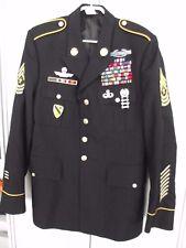 Uniformjacke 1st Cavalry  Blue Dress Top mit Orden Sergeant-Mayor