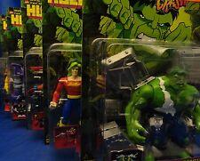Hulk Smash & Crash Series Full Set 5 Figures MOC Doc Samson Leader Incredible
