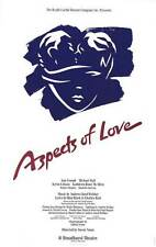 ASPECTS OF LOVE (BROADWAY) Movie POSTER 27x40