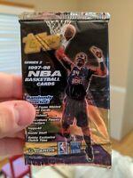 1997-1998 Topps Series 2 NBA Basketball Unopened Hobby Pack