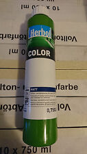 Herbol Volltonfarbe Abtönfarbe Wandfarbe 750 ml/ Dschungel / Grün
