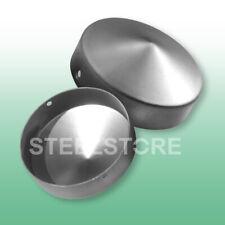 42 mm Ø Pfostenkappe Rundkappe Pfostendeckel aus Stahl für Pfosten