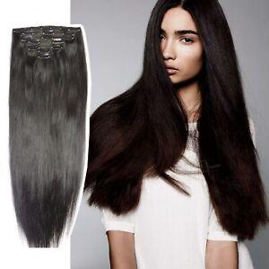 EXTENSION CHEVEUX A CLIPS REMY HAIR 100% NATURELS Flow épais Coiffure