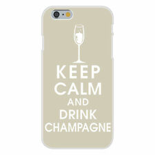 Keep Calm and Drink Champagne FITS iPhone 6+ Plastic Snap On Case Cover New