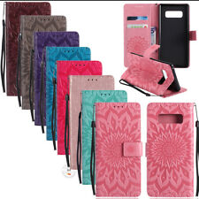 Hot Luxury Fashion Leather Flip Cover Wallet Case Cards Pocket Kickstand Straps