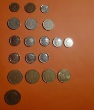 Belgium Belgique 19 coins munten 1951-1995, beautiful Lot,     Starts at 0,78/c