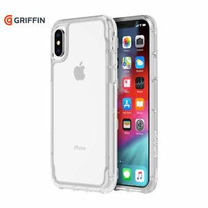 Custodia cover rinforzata no graffi Griffin Survivor CLEAR Apple iPhone X 10 XS