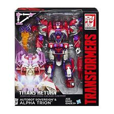 Transformers Titans Return V Class ALPHA TRION Action Figure Toy Gift Christmas