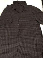 Geoffrey Beene Short Sleeve Black & White Large