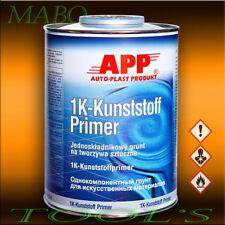 KUNSTSTOFF PRIMER KUNSTSTOFF PLASTIK GRUNDIERUNG HAFTGRUND ROST 1Lt. APP 020901