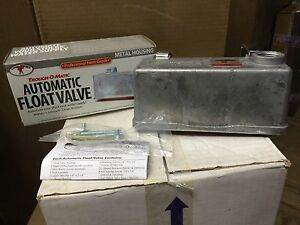 Miller Float Valve TM 830, Livestock water trough float, metal case