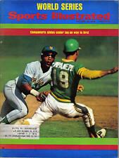 1973 10/22 Sports Illustrated, magazine, baseball, Bert Campaneris, Oakland A's