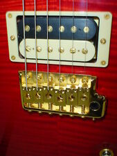 PRS Singlecut 22 Trem Artist Flame 10 Top Electric Guitar - Ruby Red