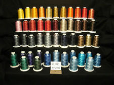 48 - FUFU's Embroidery Thread - Rayon - FFL106 - No Duplicate Colors
