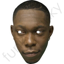 Dizzee Rascal Mask Celebrity Singer Card Mask - All Our Masks Are Pre-Cut!