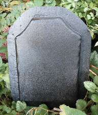 Plaster concrete tombstone plastic mold memorial mould make your own