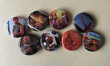 "Chuck Norris 1"" pinback buttons Lonewolf Mcquade set"