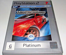Need For Speed Underground PS2 (Platinum) PAL *Complete* Free Post